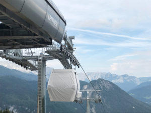 Acceptance tests for new Jenner cable car