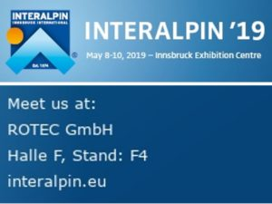 Interalpin 2019 – We are in!